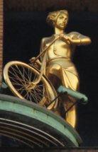 Copenhagen - Girl on bike
