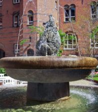 Bear Fountain Copenhagen Denmark