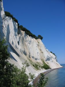 White Cliff Denmark - The Cliff of Mon