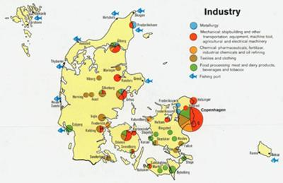 Interesting facts about Economy of Denmark