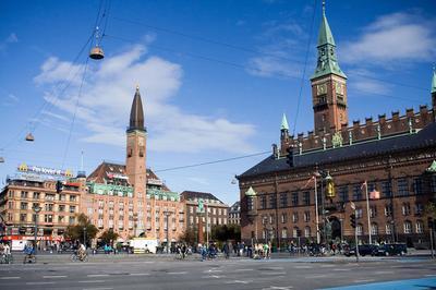 Town Hall Copenhagen Denmark