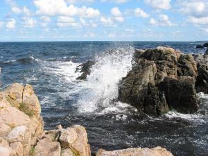 The island of Bornholm Denmark