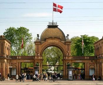 Tivoli amusement park - Denmark
