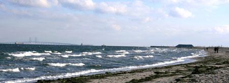 Amager Beach in Copenhagen, Denmark