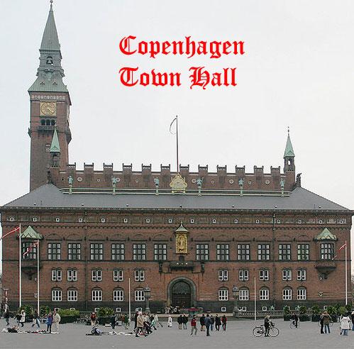 Copenhagen Hown Hall Denmark