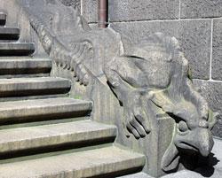Dragon at Copenhagen`s Town Hall