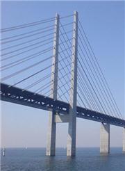 スウェーデンとデンマーク間のOresund橋