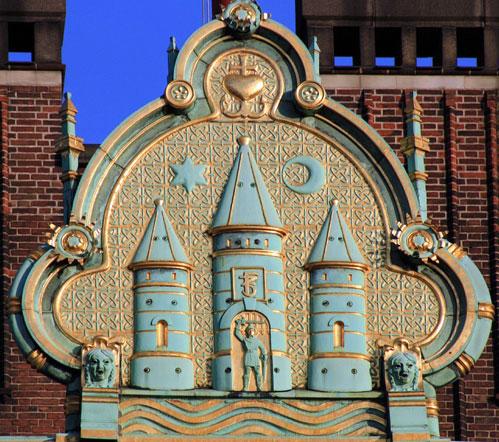 The coat of arms of Copenhagen