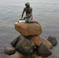 The little mermaid of Copenhagen